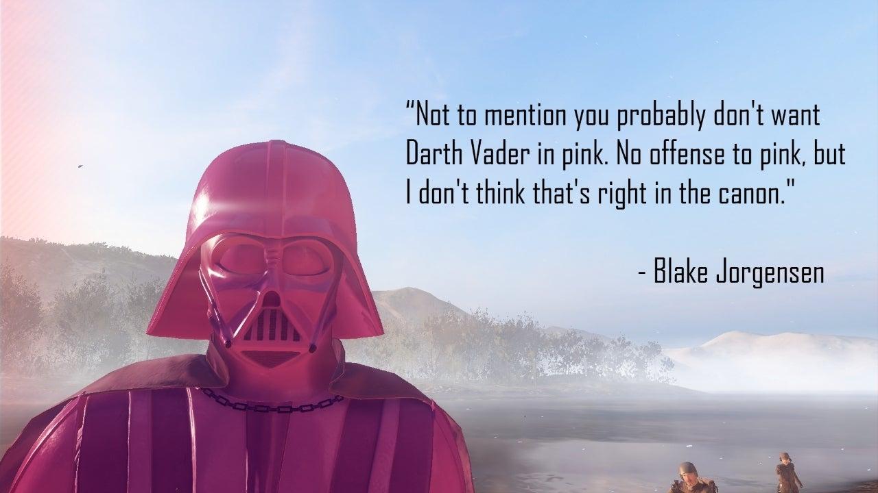 pink vader