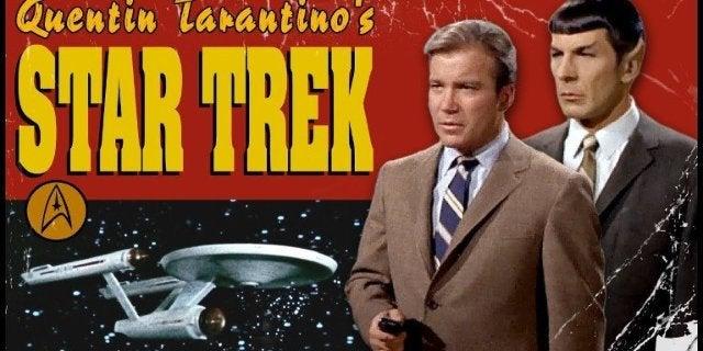 Quentin Tarantino Star Trek Trailer