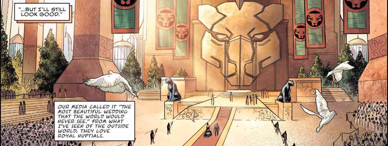 Rise of the Black Panther #1 - Wedding