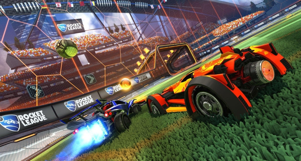 Rocket League is getting a resolution bump on Nintendo Switch this spring
