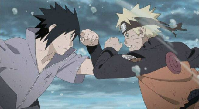 Naruto Has Its Fair Share Of Tenuous Bromances But None Them Can Top The Drama And Sasuke Two Boys Take Rivalries To An Entirely New