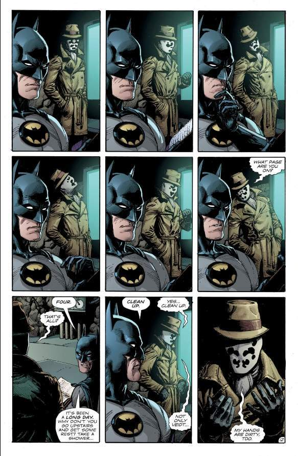 Batman Is Wearing A New Costume In Doomsday Clock
