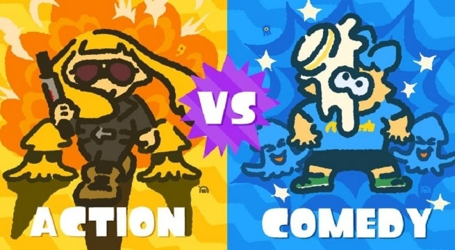 splatoon 2 s january splatfest pits action and comedy against one