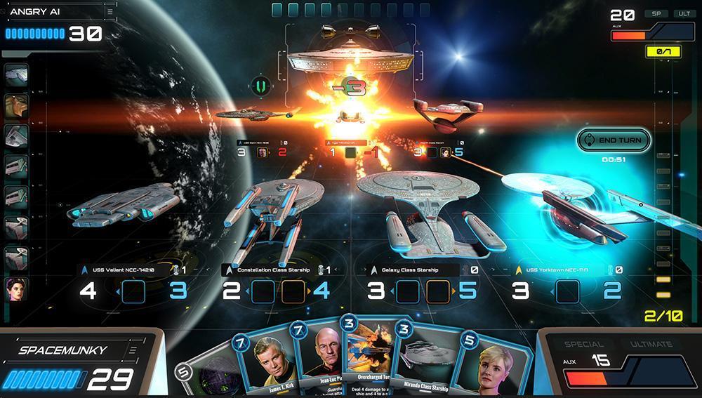 Star Trek Adversaries gameplay