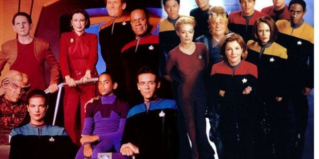 Star Trek Deep Space Nine Voyager