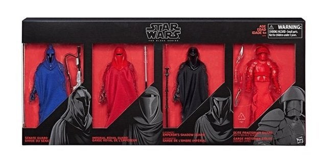 Save 33% on the 'Star Wars' Black Series Guard Figure 4-Pack Exclusive