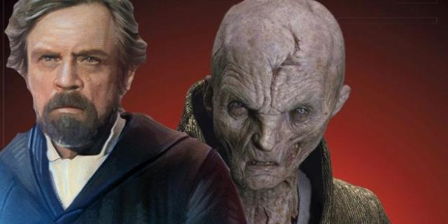 Star Wars Snoke Alive Luke Astral Projection Connection