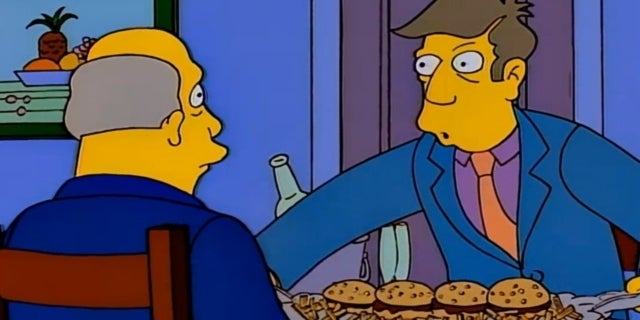 steamed hams the simpsons skinner chalmers