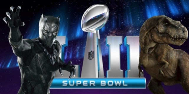 Super Bowl 52 movie trailers comicbookcom