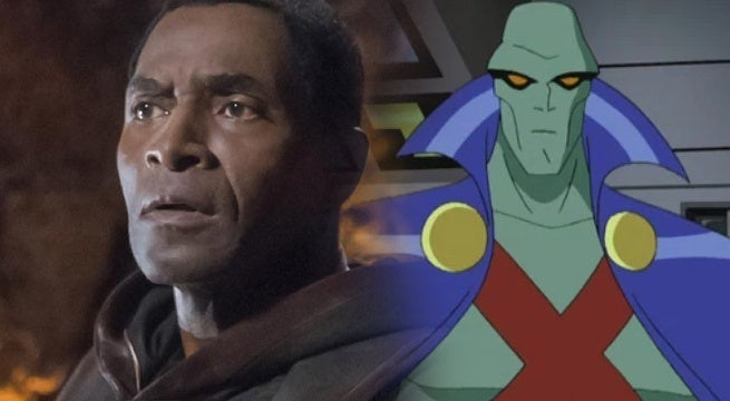 supergirl carl lumbly martian manhunter