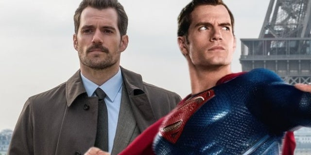 superman justice league mission impossible mustache