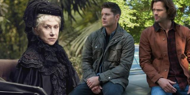 supernatural winchester helen mirren