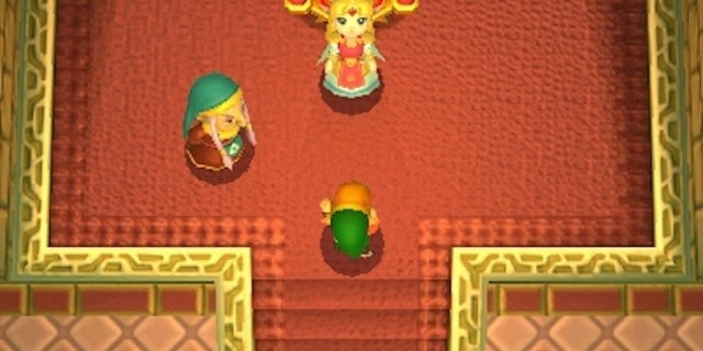 The Legend of Zelda Link Between Worlds