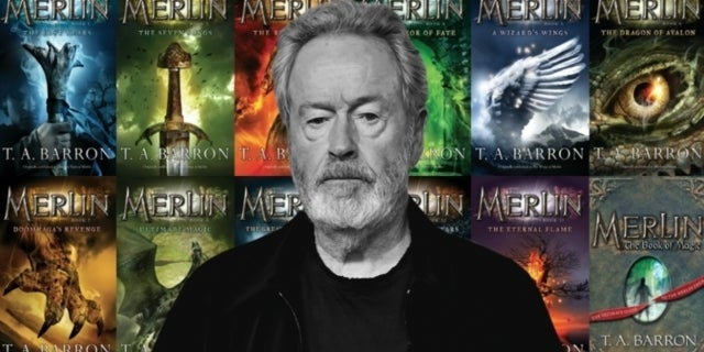 The Merlin Saga Ridley Scott Disney comicbookcom