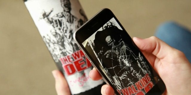 The Walking Dead Wine AR