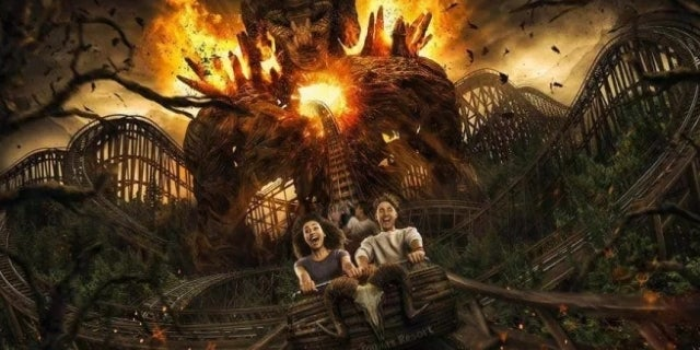 the wicker man roller coaster