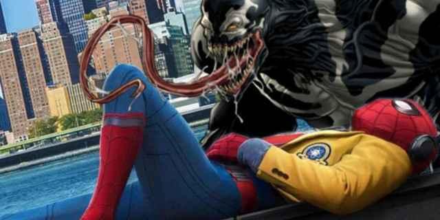 venom-movie-spider-man-peter-parker-tom-holland-cameo