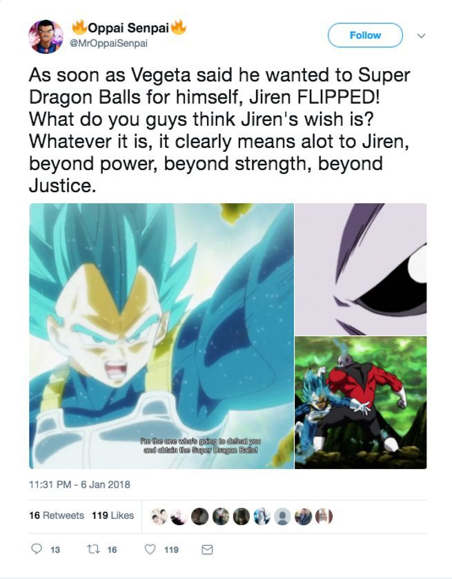 Why Does Jiren Want the Super Dragon Balls