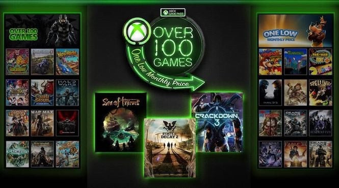 Xbox Games With Gold for February 2018