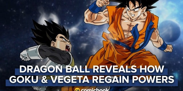 'Dragon Ball' Reveals Why Goku and Vegeta Regain Power So Quickly screen capture