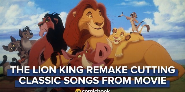 'The Lion King' Remake Cutting Classic Songs from Animated Film screen capture