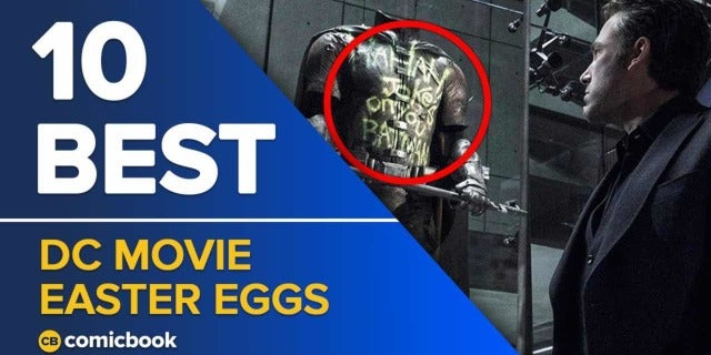 10 Best DC Movie Easter Eggs