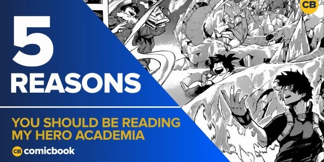 5 Reasons You Should Be Reading My Hero Academia screen capture