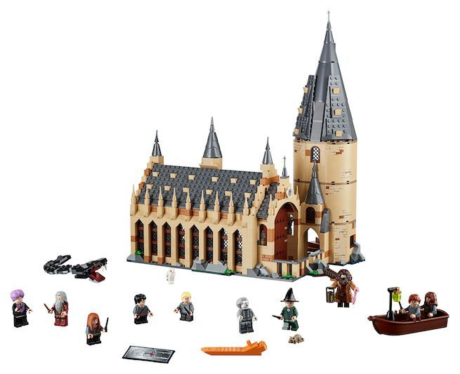 Lego just debuted the coolest 'Harry Potter' Hogwarts set ever