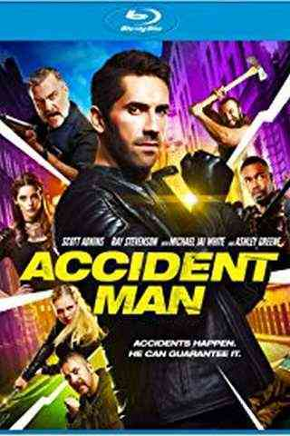 Accident Man movie poster image
