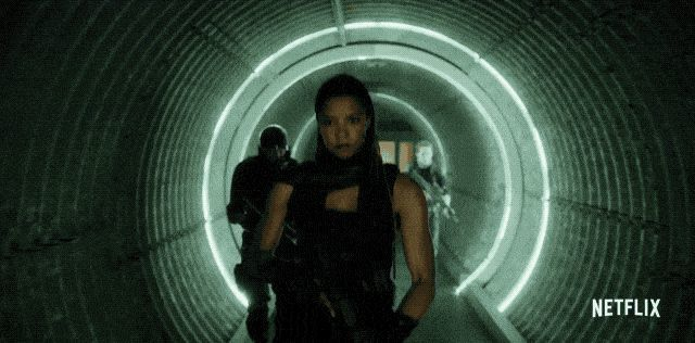 Altered Carbon Action Scenes