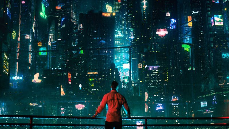 Altered Carbon Anime Inluence Production Design