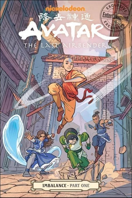 Avatar The Last Airbender Imbalance