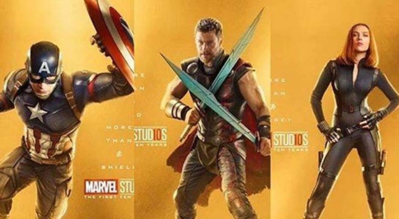 Marvel cinematic universe 10th anniversary posters revealed