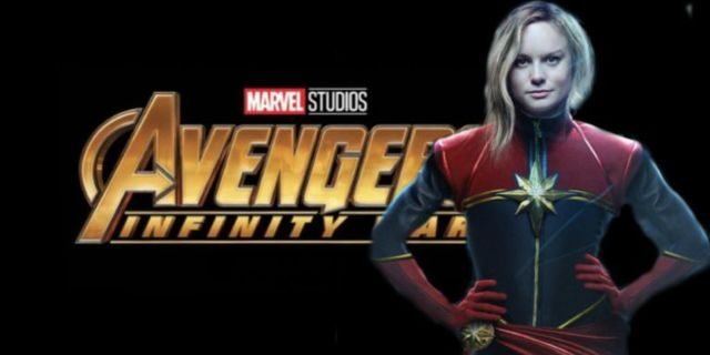 Avengers Infinity War Captain Marvel comicbookcom