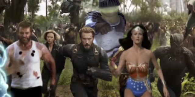 avengers infinity war weird trailer