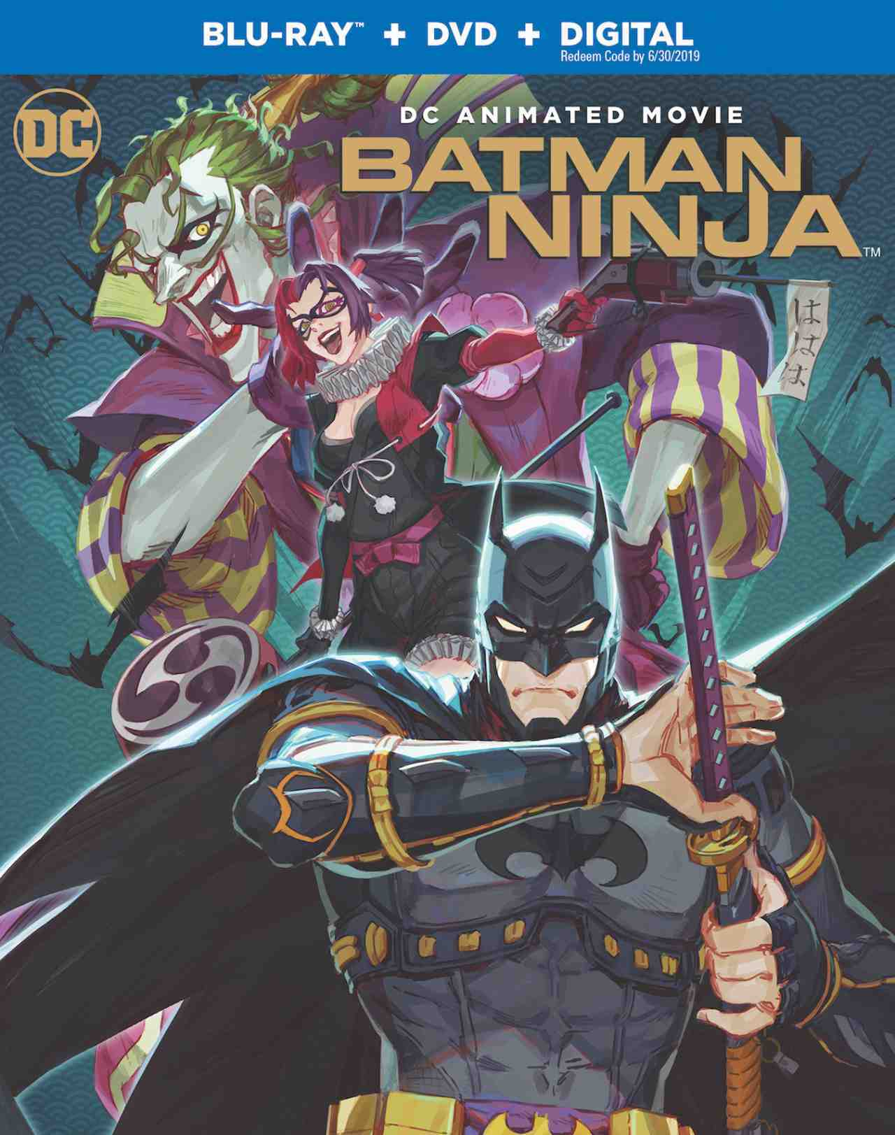 Batman Ninja - Blu-ray cover