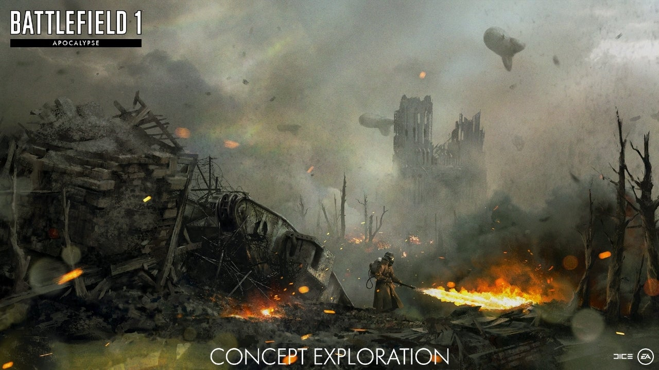 Battlefield 1 Update Adds Apocalypse DLC and More, Full