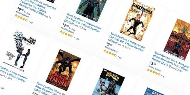 black-panther-comics-sale