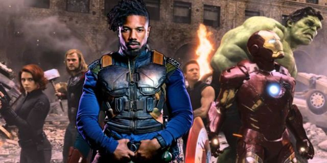 Black Panther Killmonger Avengers