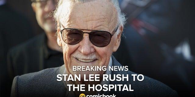 BREAKING: Stan Lee Rush to Hospital screen capture