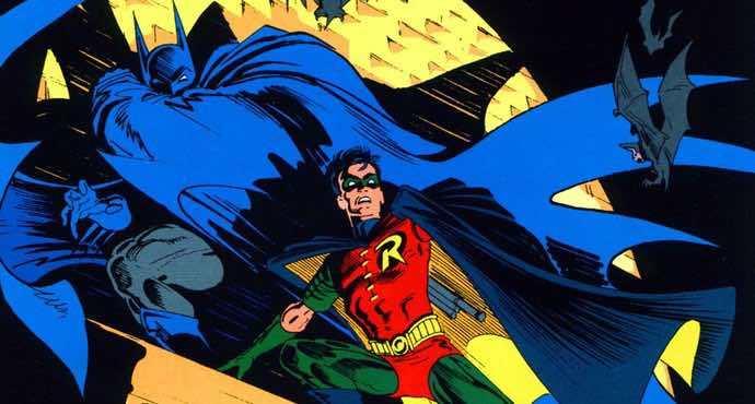 Norm Breyfogle Batman and Robin