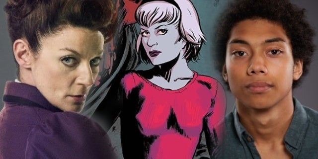 chilling adventures of sabrina michelle gomez chance perdomo