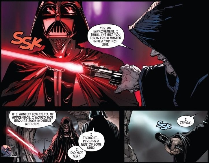 Star Wars: Darth Vader's Final Lightsaber Unveiled in New ...