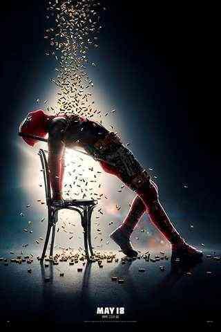 Deadpool 2 movie poster image