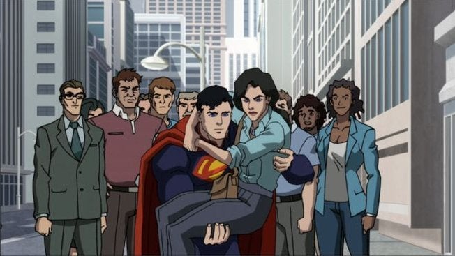 Death Of Superman Animated Movie First Look Released