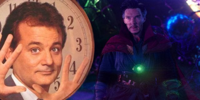 doctor strange easter egg bill murray groundhog day