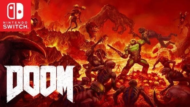 Doom on Switch Gets Motion Controls, Party Support