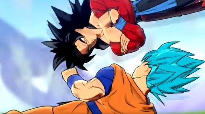 Goku Ssj4 Vs Goku Ssj3: 'Dragon Ball Heroes' Pits SSB Goku Against SSJ4 Goku