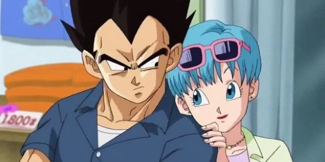Dragon Ball Super Vegeta Bulma