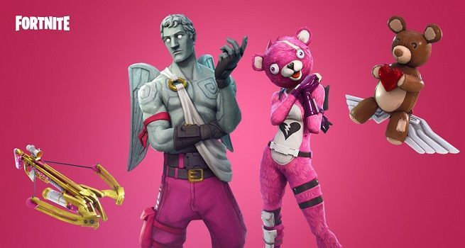 Fortnite Releases Valentines Patch Notes With A Crossbow